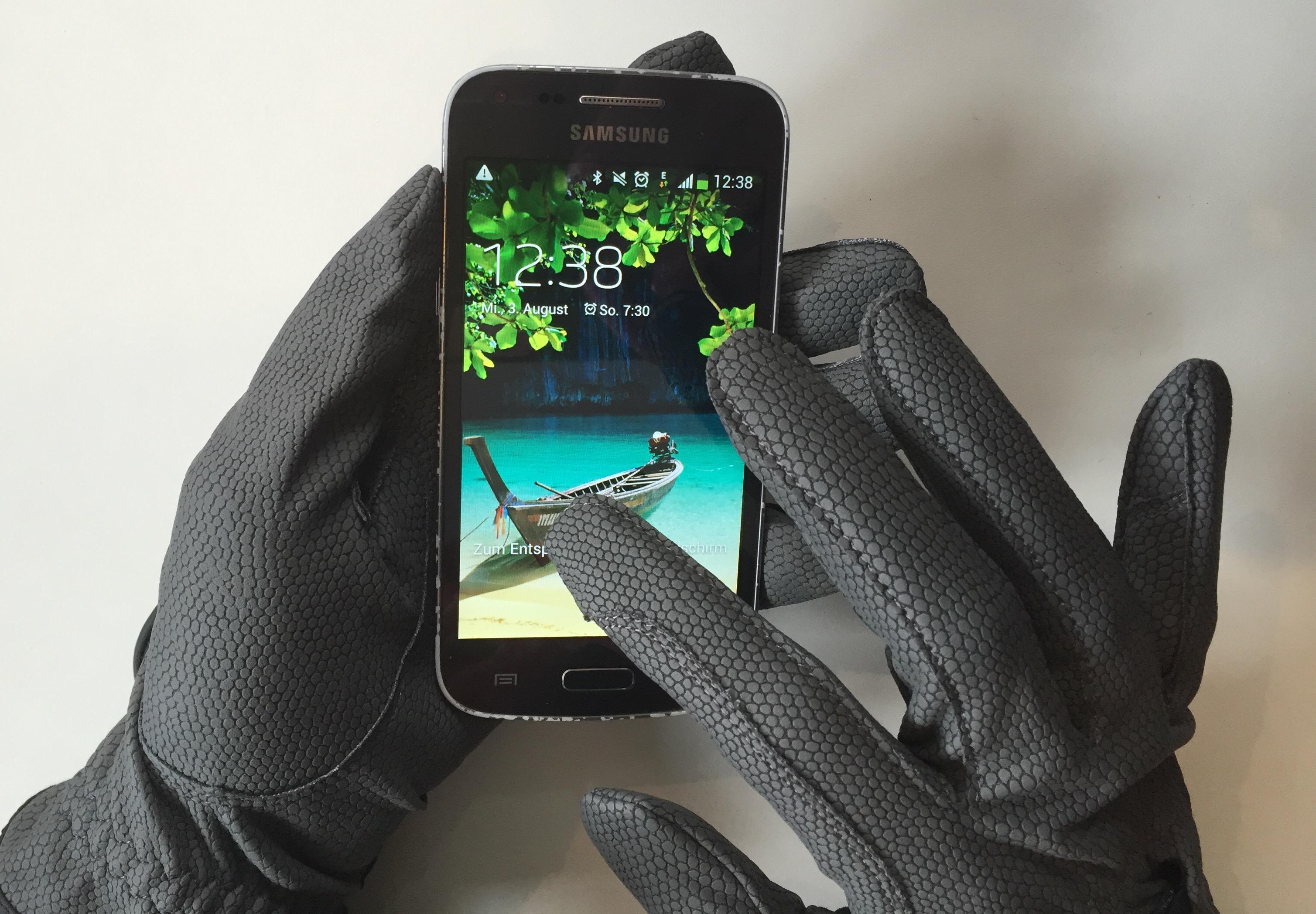 Touchscreenfähige Reithandschuhe