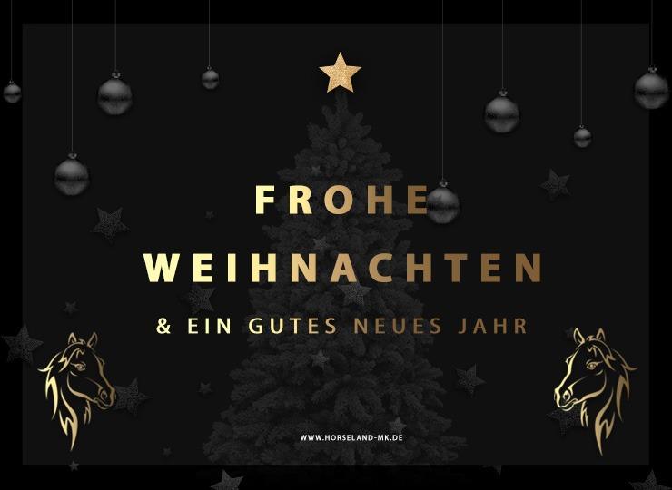 Frohe Weihnachten und eine fröhlichen Rutsch ins 2019