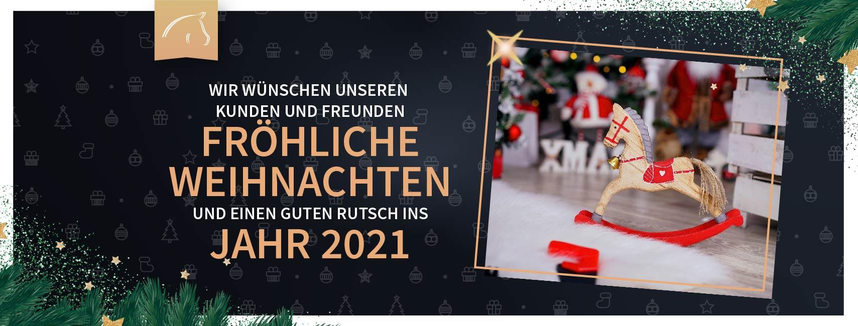 Frohe Weihnachten und einen fröhlichen Rutsch ins 2021